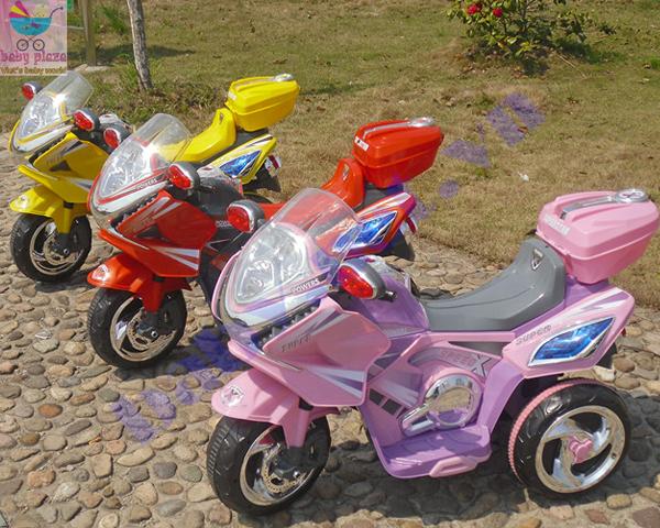 Xe 3 bánh điện trẻ em 358D bảo hành 12 tháng - Baby Plaza