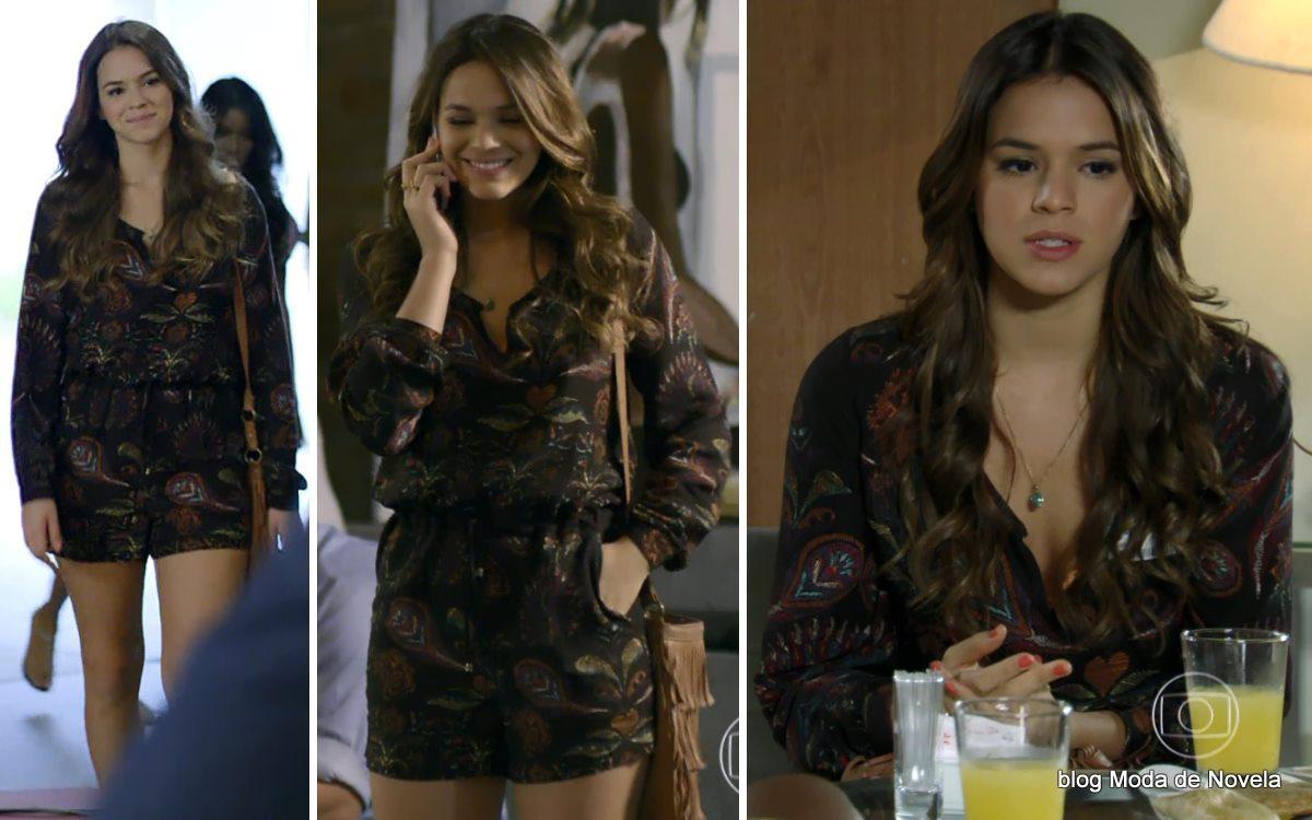 moda da novela Em Família - look da Luiza dia 5 de maio