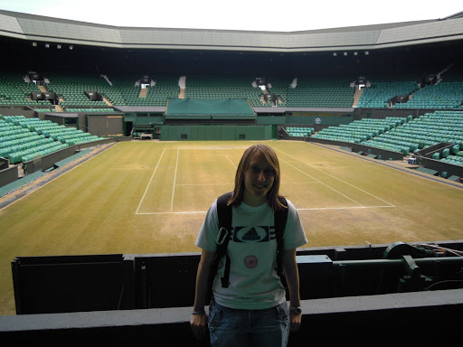 Wimbledon Lawn Tennis Museum - Center court! From Best Museums in London and Beyond
