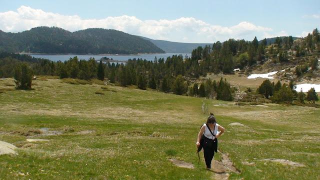 Dejamos atras el lago de Las Boullosas
