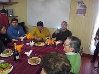 Cumpleaños socios club Adulto Mayor Los Canelos