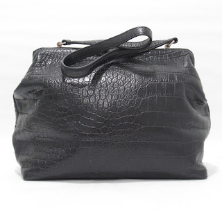 Steven Alan Embossed Leather Shoulder Bag