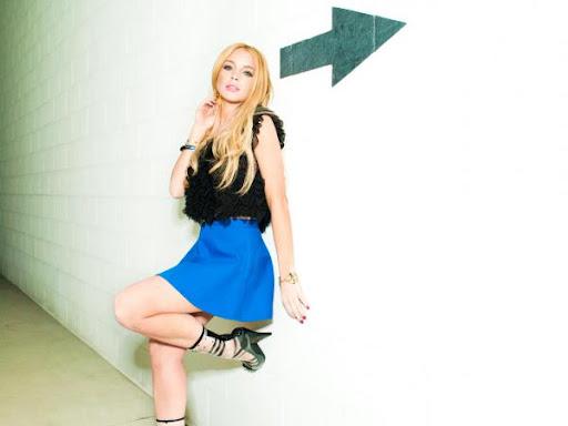 lindsay lohan 2011 photoshoot. Double Character Lindsay Lohan