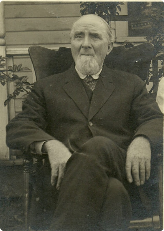 HART_Lenard A_sitting in a chair in his later years