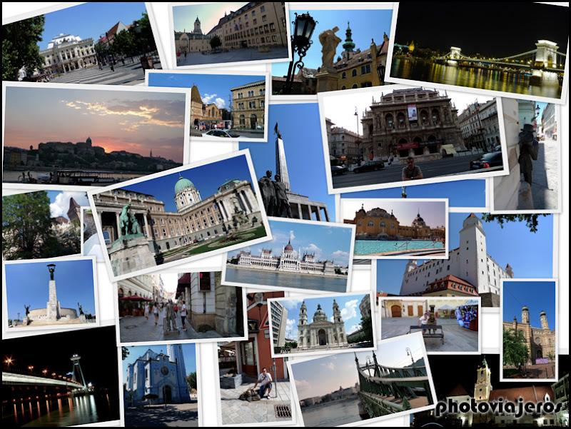 Guia de Bratislava y Budapest