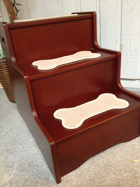 Deluxe dog stairs