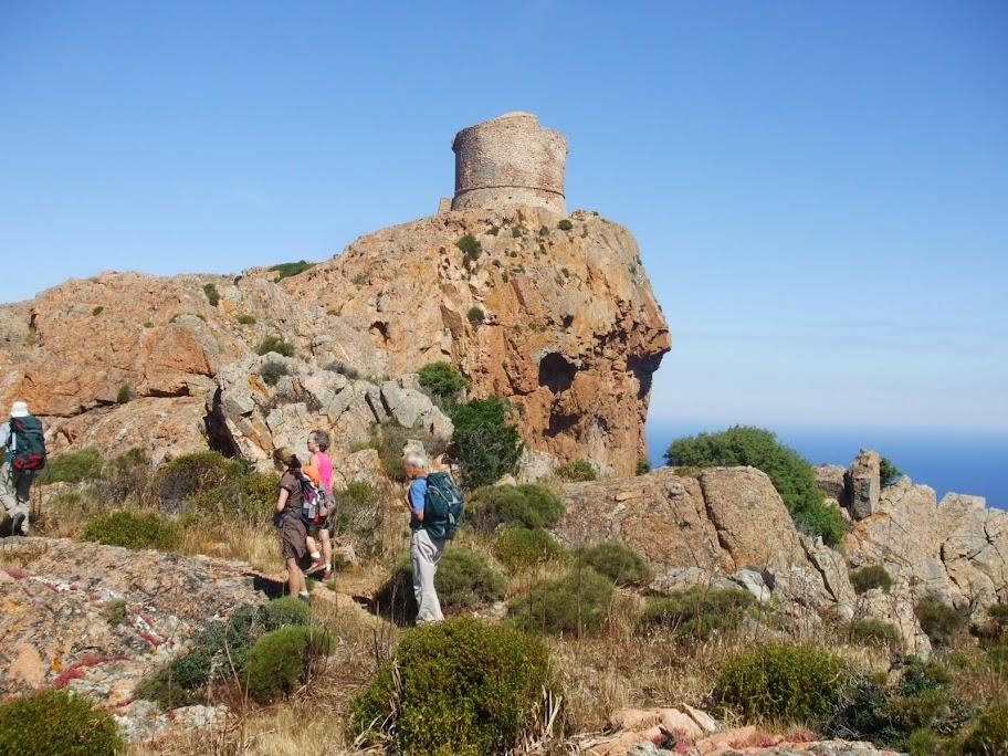 Capo Rosso : enfin la tour de Turghio ! Pas tout à fait...