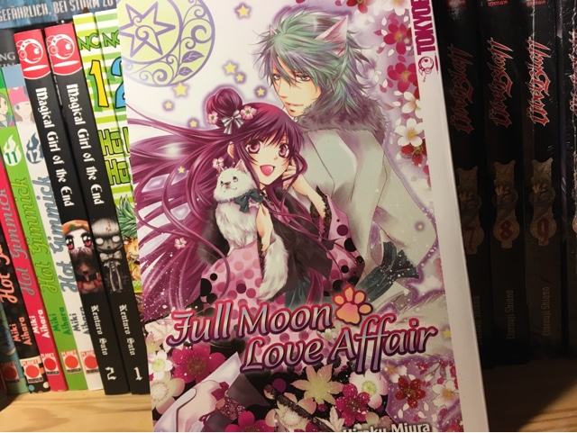 Manga Review Fullmoon Love Affair