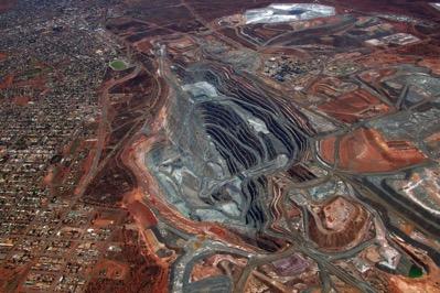Kalgoorlie SuperPit Aerial view