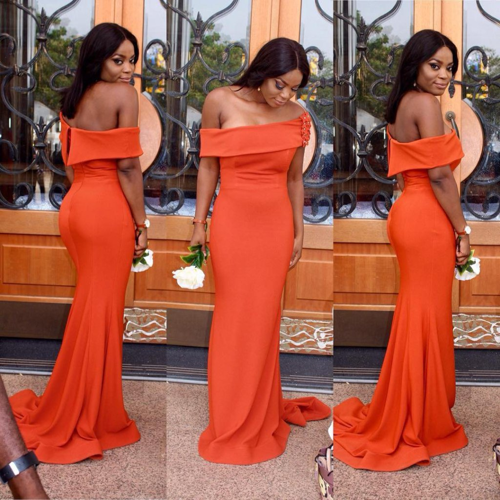 African Stylish Wedding Guest Dresses Styles 2019 9