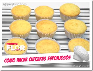 Como hacer cupcakes esponjosos