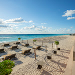 Hard Rock Hotel Cancun - Beach%2Bwith%2BLounge%2BFurniture.jpg