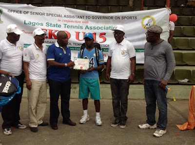 First Eko Tennis Championship Ends amidst Pomp And Pageantry