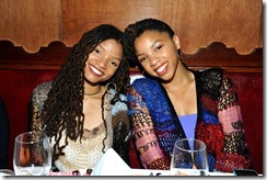 HOLLYWOOD, CA - MARCH 30:  Actors/singers Halle Bailey (L) and Chloe Bailey attend the Coach & Rodarte celebration for their Spring 2017 Collaboration at Musso & Frank on March 30, 2017 in Hollywood, California  (Photo by Donato Sardella/Getty Images for Coach)