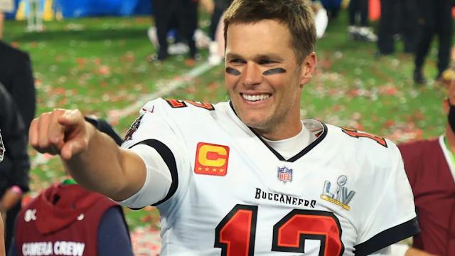 'Laser Eyes' Tom Brady? NFL Legend Blamed For Bitcoin Crash