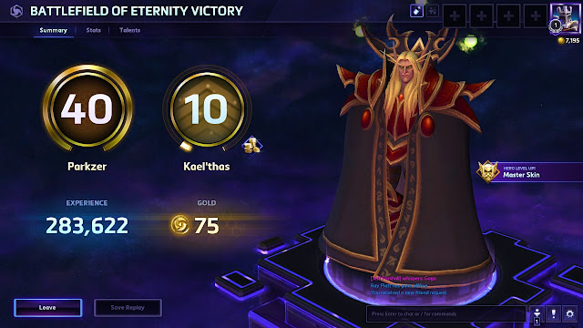 Heroes of the Storm - Level 10 Kael'thas