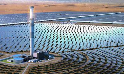 مركزات طاقة شمسية