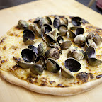 Award winning clam pizza!