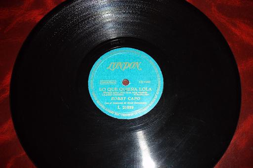 BOBBY CAPO .. disco de pizarra