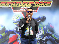 Basli Ali Buka Bupati Cup Race dan Kejurda Balap Motor Seri 1 IMI Sulawesi Selatan