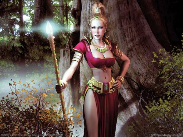 Elven Lady Of Forest, Elven Girls 2