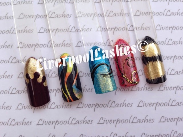 shellac nail art vinylux nail art modern folklore liverpoollashes