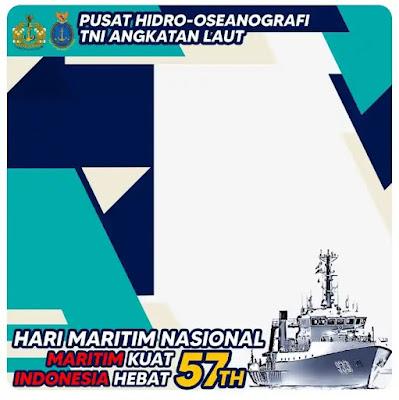 Link Twibbon Hari Maritim Nasional 2021