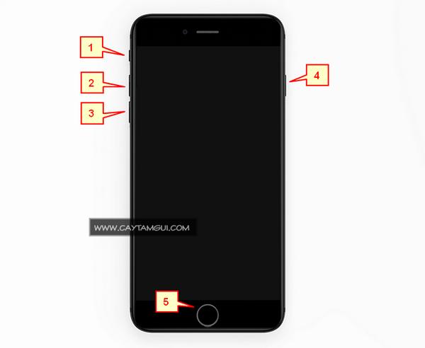 Tổng quan về các nút bấm trên iPhone