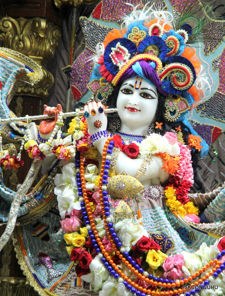 ISKCON Juhu Sringar Deity Darshan on 19th Oct 2016 (2)