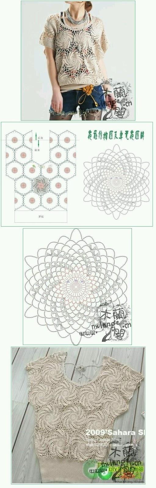 Carteras Tejidas A Crochet Con Patrones Y Graficos Gratis | Mejores ...