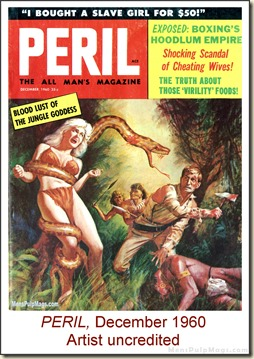 PERIL, Dec 1960, artist uncredited