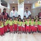 Dental Check Up for Jr.KG Section at Witty World Bangur Nagar (2018-2019)