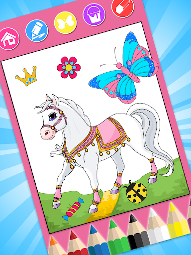 Princess Coloring Book  screenshots 14