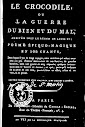 Le Crocodile ou la Guerre du Bien et du Mal (1798,in French)