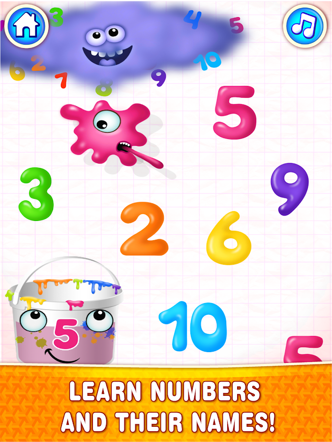 Super NUMBERS for kids! FULL – знімок екрана