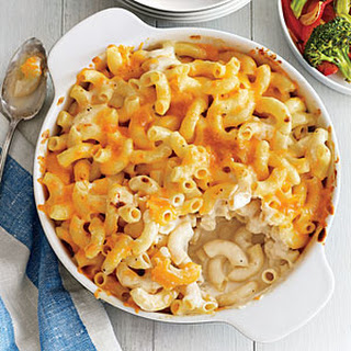 Two-Cheese Mac and Cheese.