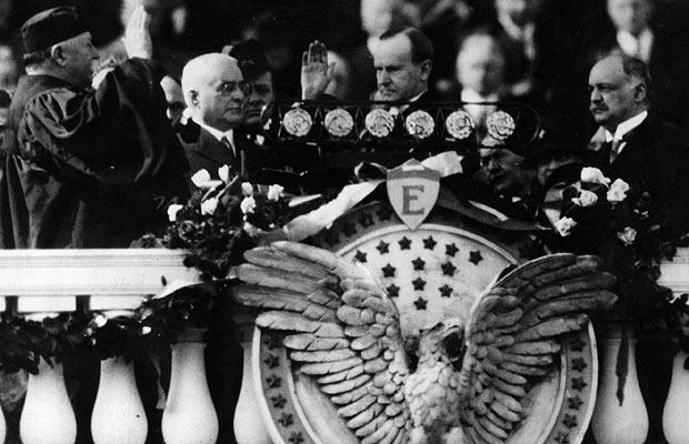 1925 coolidge inauguration