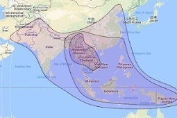 Cara Tracking Laosat1 Kuband di garis bujur 128.0°E Ku-band