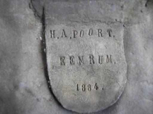 Naam H.A. Poort Jaartal 1884 Plaats Eenrum.JPG