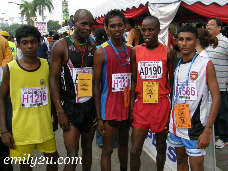 winners of Ipoh International Run