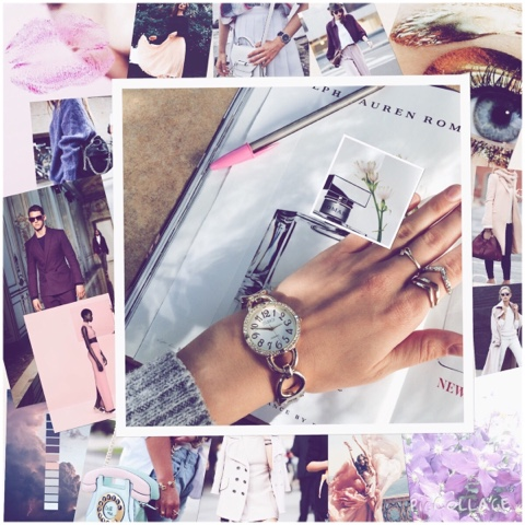 Inspiration Board- Lilac/Mulberry