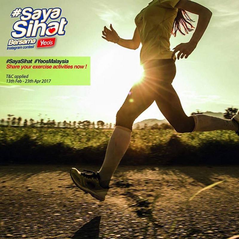 Jom sertai kempen '#SayaSihat' anjuran #YeosMalaysia !