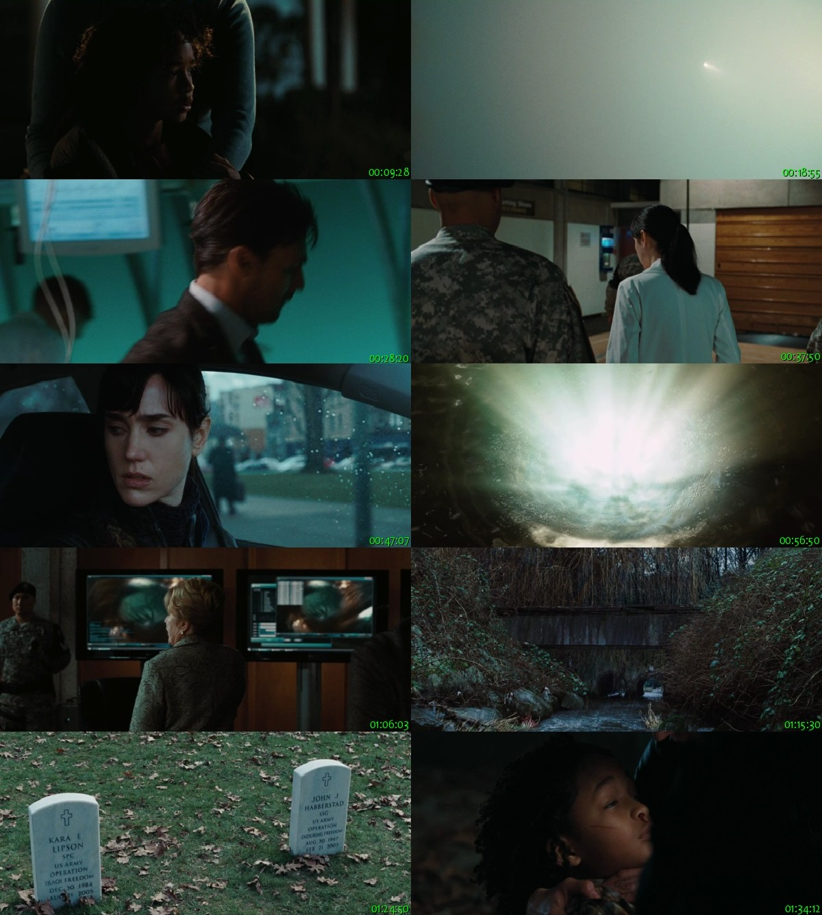 Screen Shot Of The Day the Earth Stood Still 2008 300MB Full Movie Hindi Dubbed Free Download 480P BRRip Small Size PC Movie