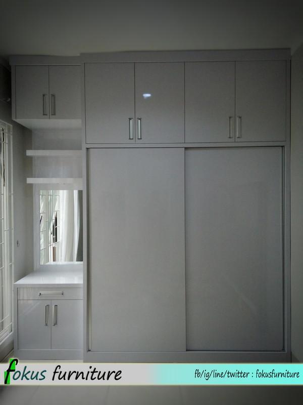 Kamar set di alam sutra tangerang furniture kitchen set for Kitchen set tangerang