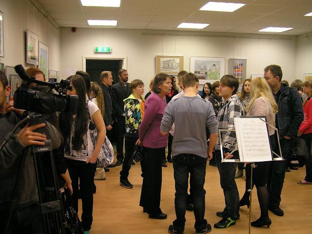X rahvusvahelise konkursi «Kunst- mäng või looming?» näituse avamine - PB280001.JPG