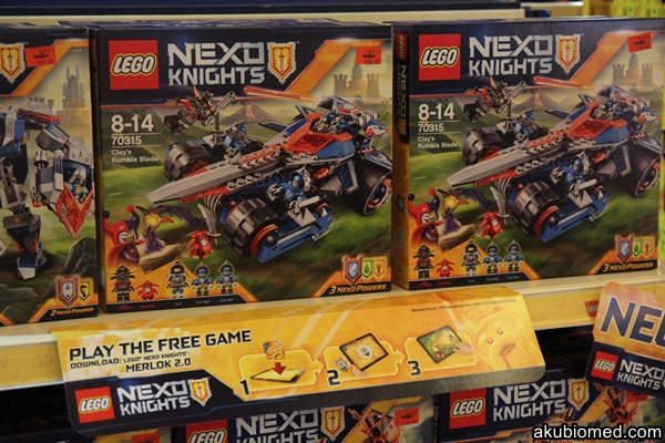Set bina NEXO KNIGHTS