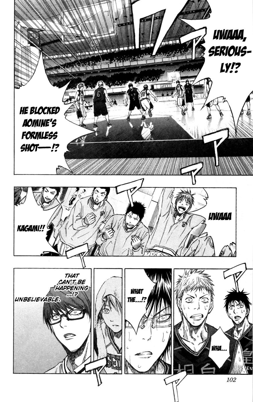 Kuroko no Basket Manga Chapter 122 - Image 17