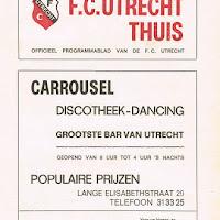 FCU Programmaboekjes 1973-74