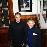 OIC - ENTSIMAGES.COM - Samuel Barnett and Robert Emms at the   LAMDA West London campus launch London 12th February 2015