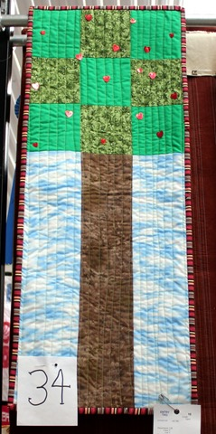 Tall Tree Quilt by Capri